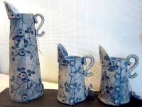 Denim Cone Button Jugs Tall, Medium, Small &  Mini  always available