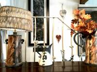Ozymandius Lamp Base & Shade SOLD Ozymandius Jug £250 & Small Copper Mist Jug £90